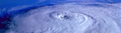 ouragan Irma vu de la stratosphère